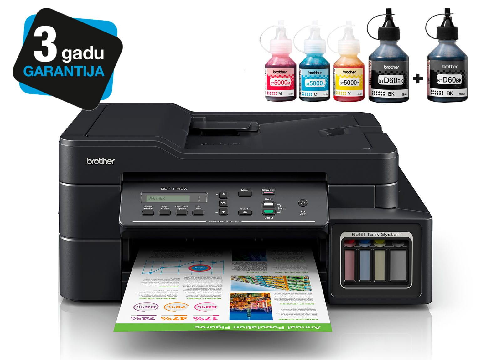 Brother InkBenefit Plus tintes printeris DCP-T710W