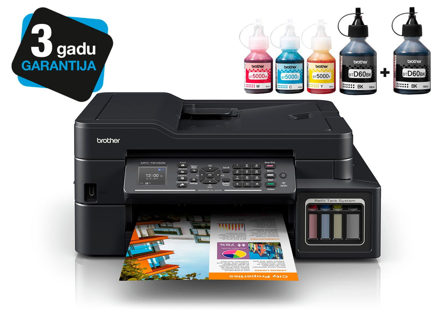Brother InkBenefit Plus tintes printeris MFC-T910DW