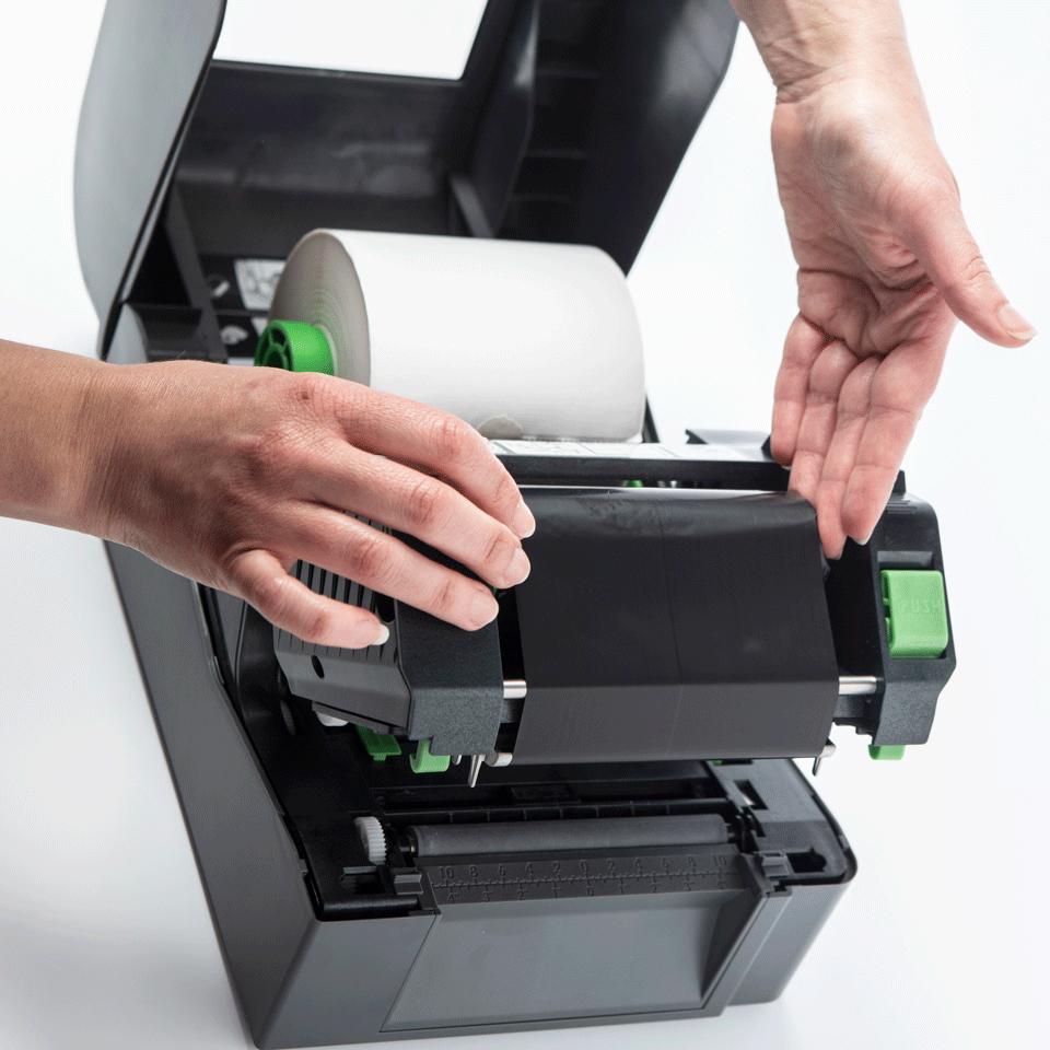 Brother TD-4520TN termo pārneses galda uzlīmju printeris 5