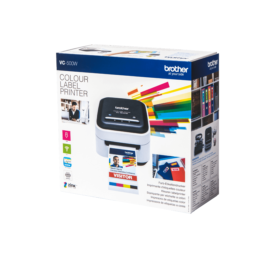 VC-500W pilnkrāsu uzlīmju printeris 4
