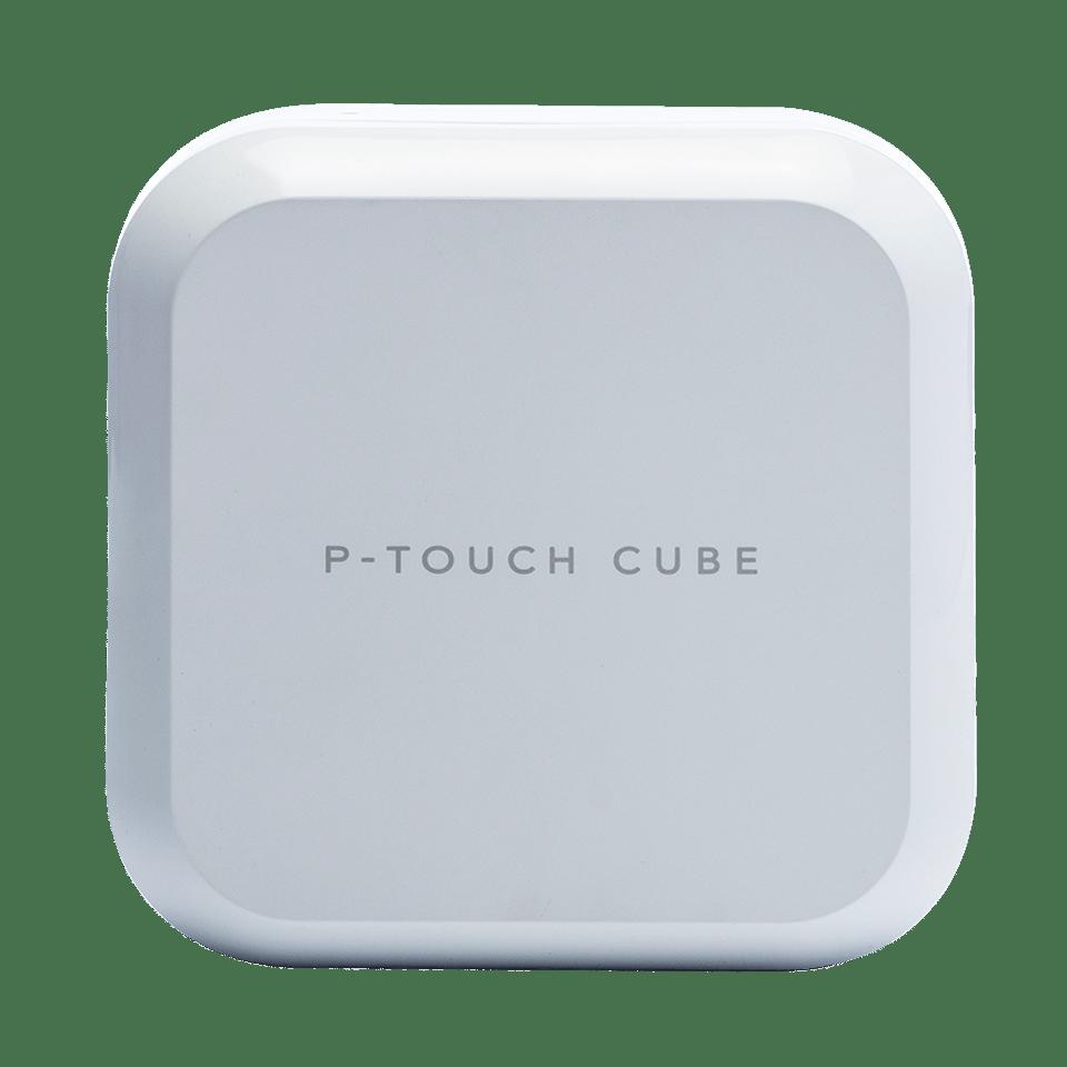 P-touch CUBE Plus PT-P710BTH uzlādējams uzlīmju printris ar Bluetooth