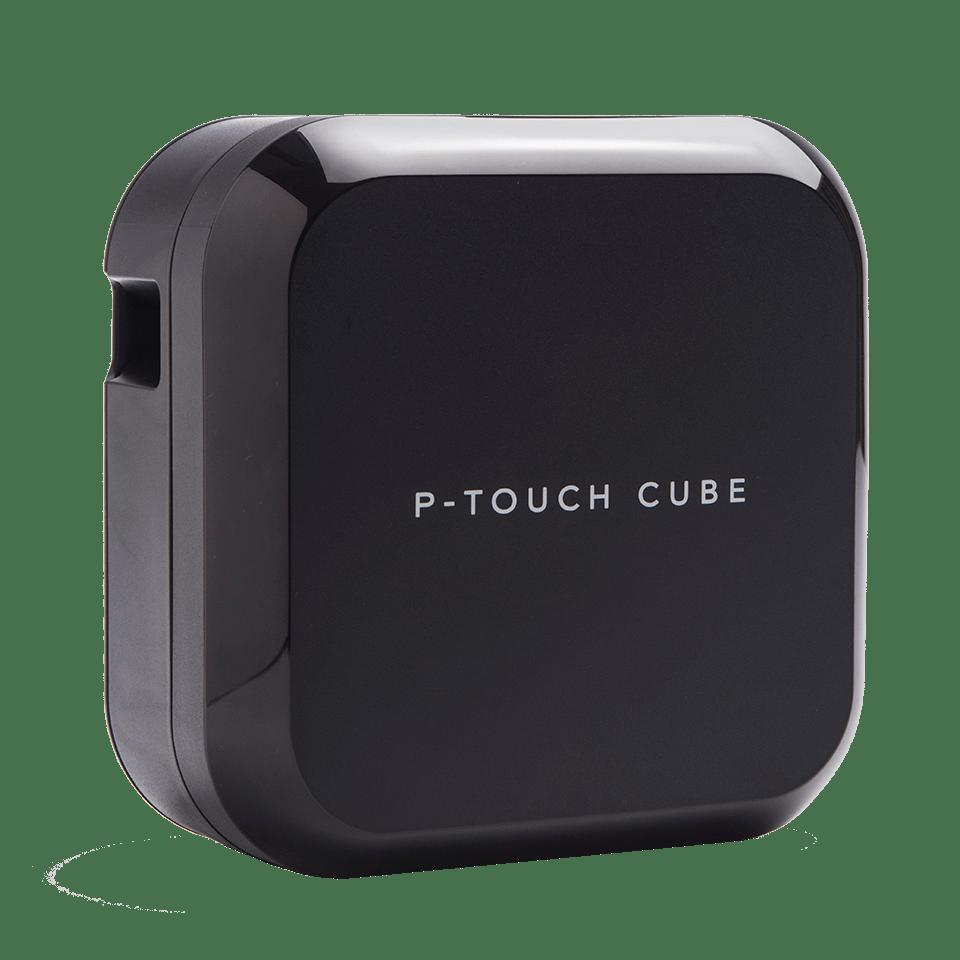 P-touch CUBE Plus uzlādējams uzlīmju printeris ar Bluetooth