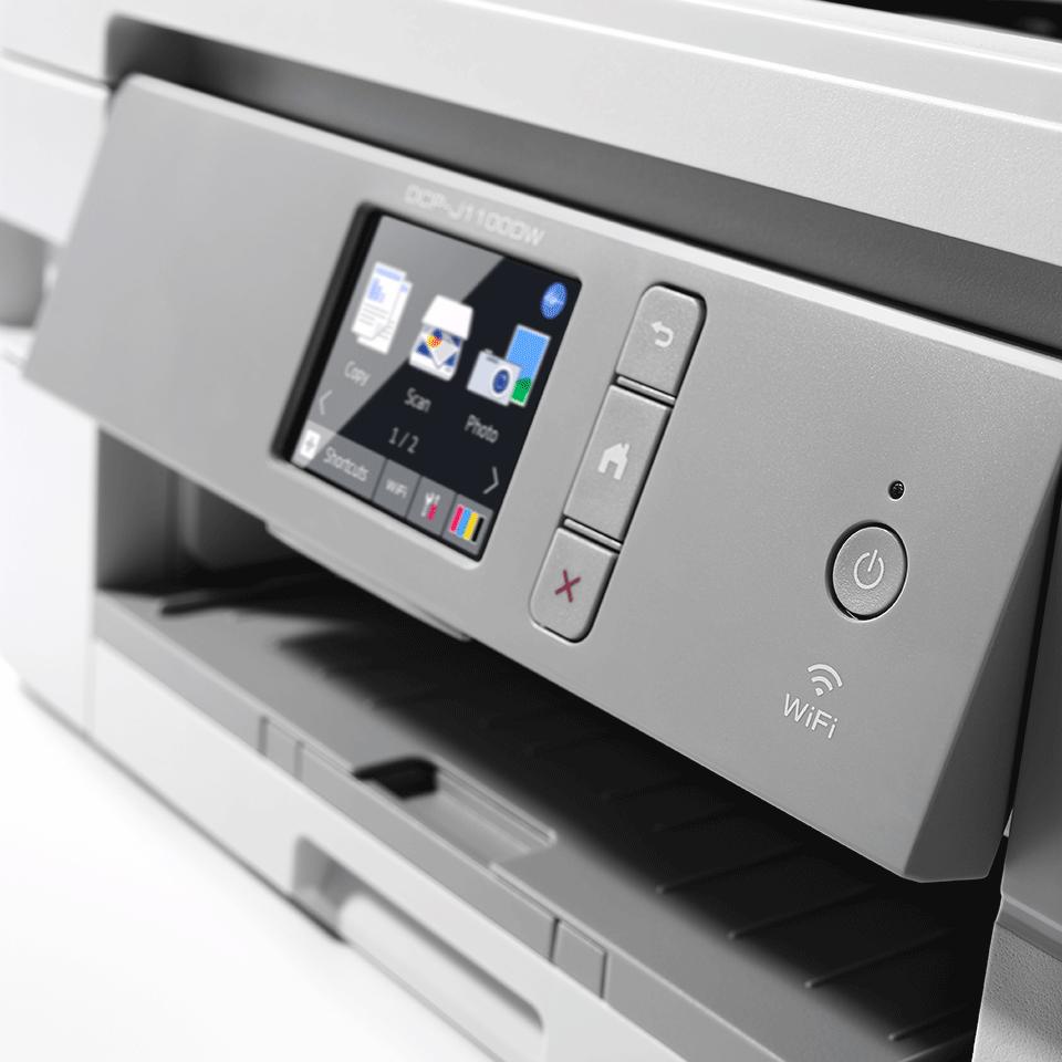 Bezvadu tīkla 3-in-1 krāsu tintes printeris DCP-J1100DW - iepakojums 5