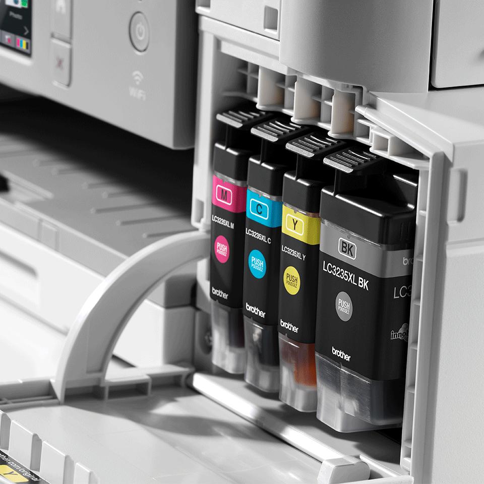 DCP-J1100DW Bezvadu tīkla 3-in-1 krāsu tintes printeris - iepakojums 6