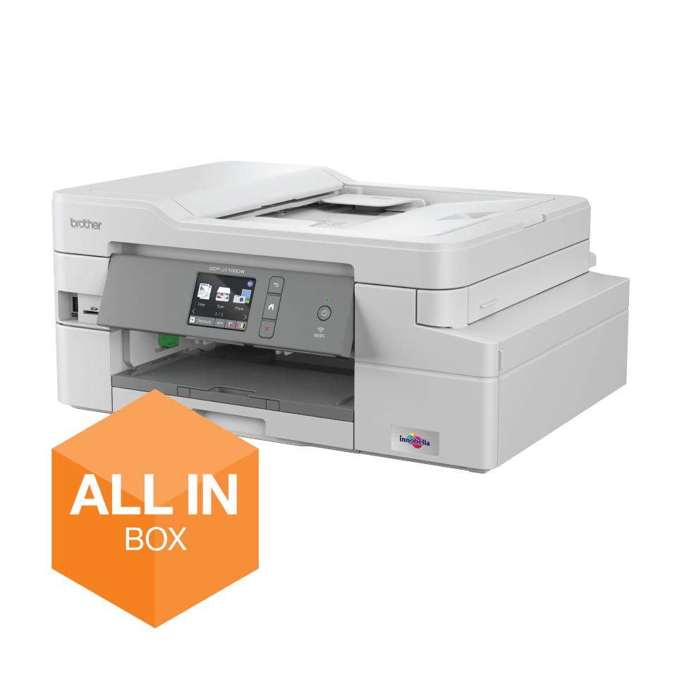 DCP-J1100DW Bezvadu tīkla 3-in-1 krāsu tintes printeris - iepakojums