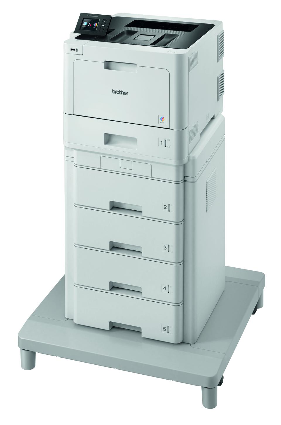 Brother HL-L8360CDWMT profesionāls krāsu, abpusējas drukas, bezvadu tīkla lāzerdrukas printeris + torņveida padeve + torņveida padeves savienotājs 2