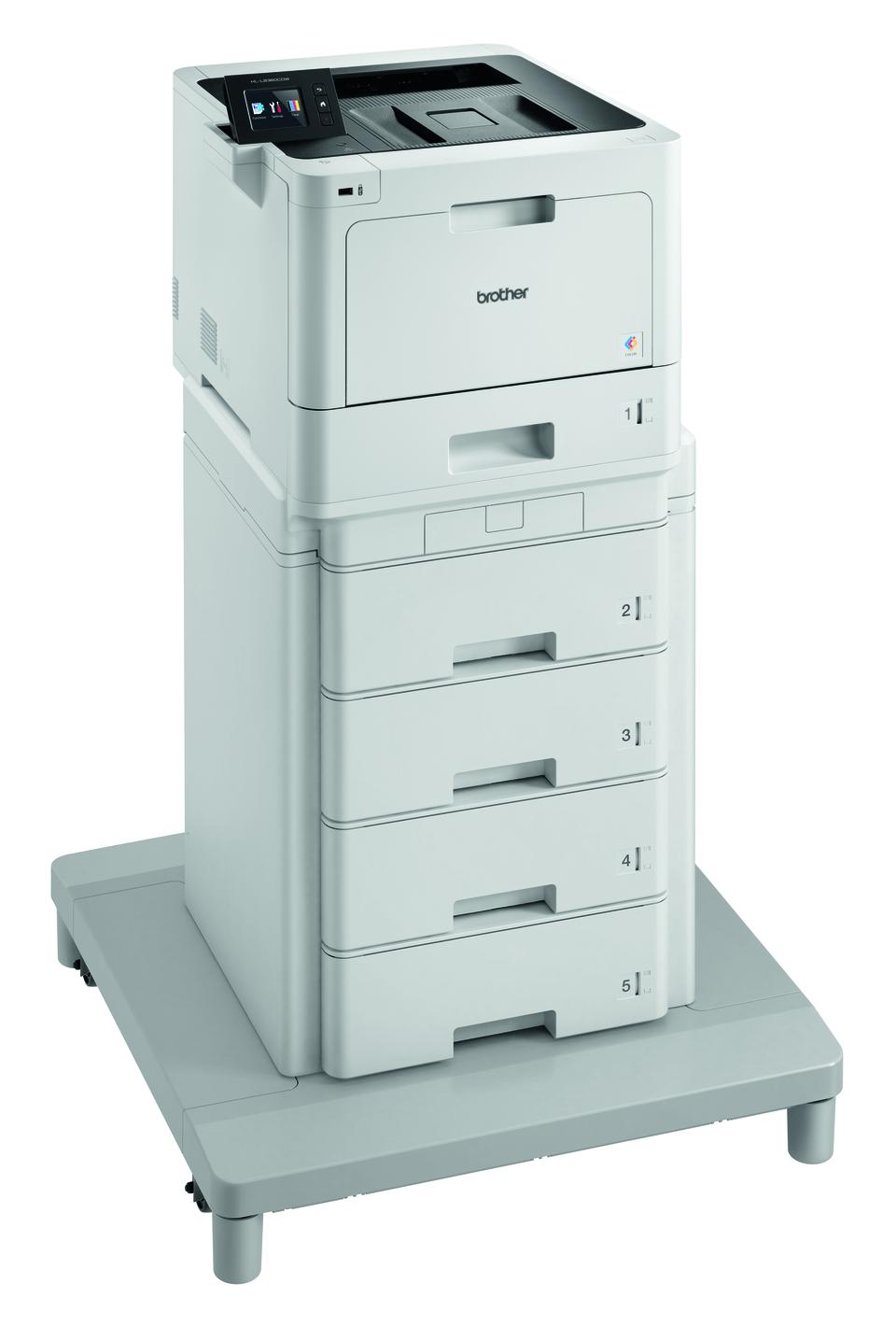 Brother HL-L8360CDWMT profesionāls krāsu, abpusējas drukas, bezvadu tīkla lāzerdrukas printeris + torņveida padeve + torņveida padeves savienotājs 3