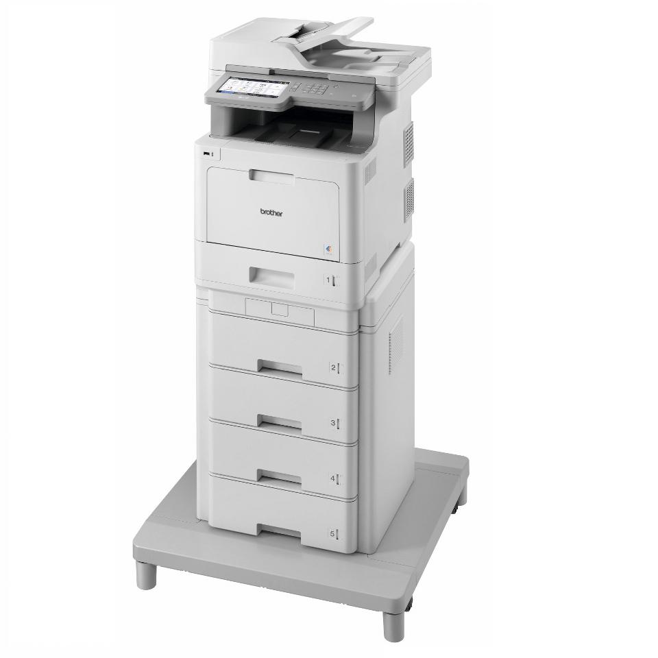 MFC-L9570CDWMT Profesionāla krāsu druka, abpusējas drukas funkcija, Wi-Fi, daudzfunkciju lāzerdrukas printeris + torņveida papīra padeve + torņveida papīra padeves savienotājs 2