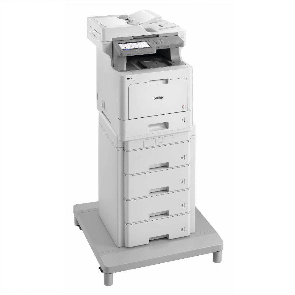 MFC-L9570CDWMT Profesionāla krāsu druka, abpusējas drukas funkcija, Wi-Fi, daudzfunkciju lāzerdrukas printeris + torņveida papīra padeve + torņveida papīra padeves savienotājs 3