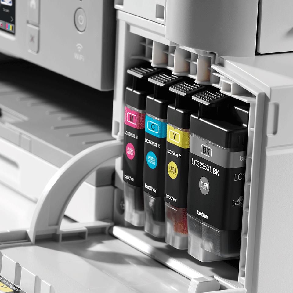 Bezvadu tīkla 4-in-1 krāsu tintes printera MFC-J1300DW akcijas iepakojums 5