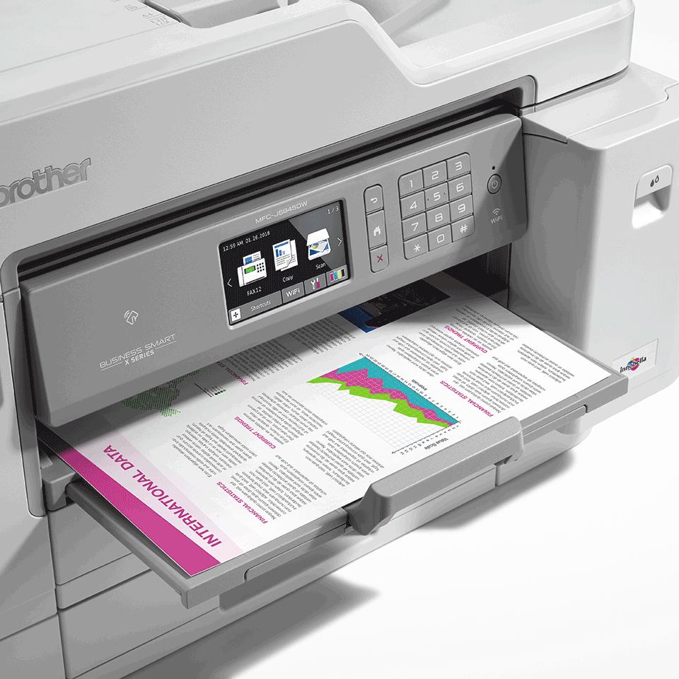 MFC-J5945DW krāsu bezvadu tīkla A3 tintes 4-in-1 printeris 5