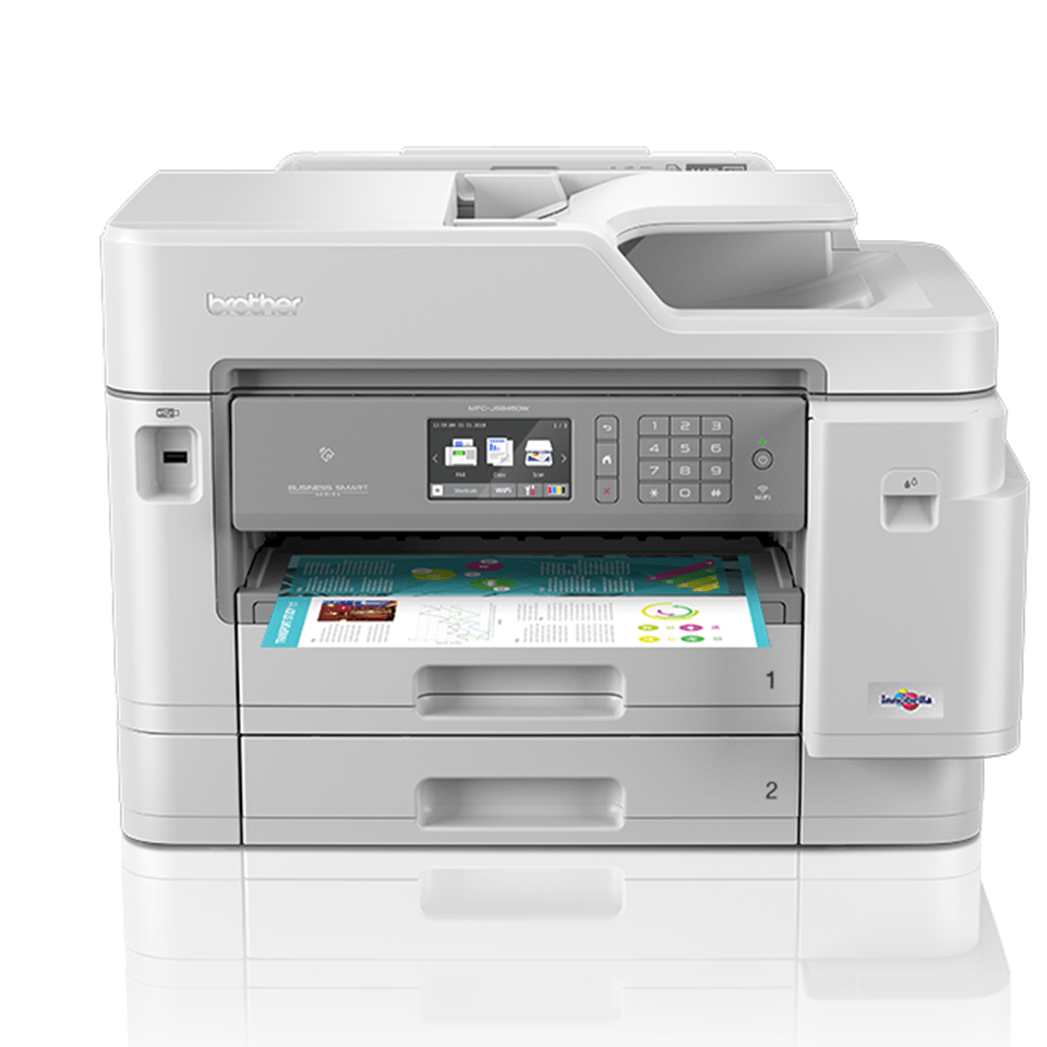 MFC-J5945DW krāsu bezvadu tīkla A3 tintes 4-in-1 printeris