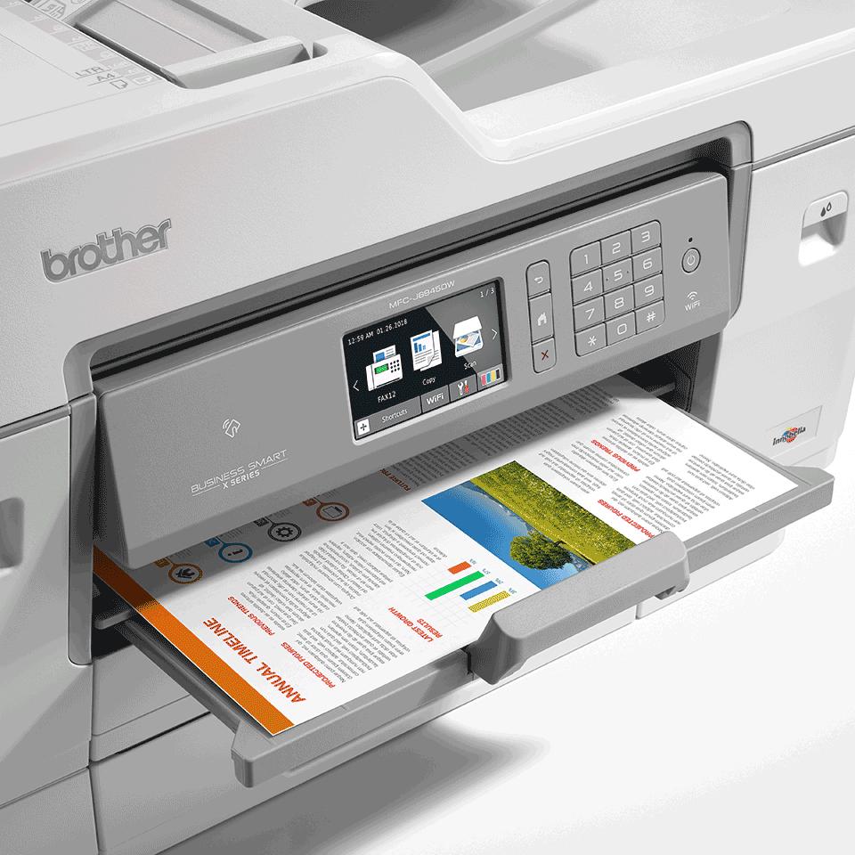 MFC-J6945DW krāsu bezvadu tīkla A3 tintes 4-in-1 printeris 6