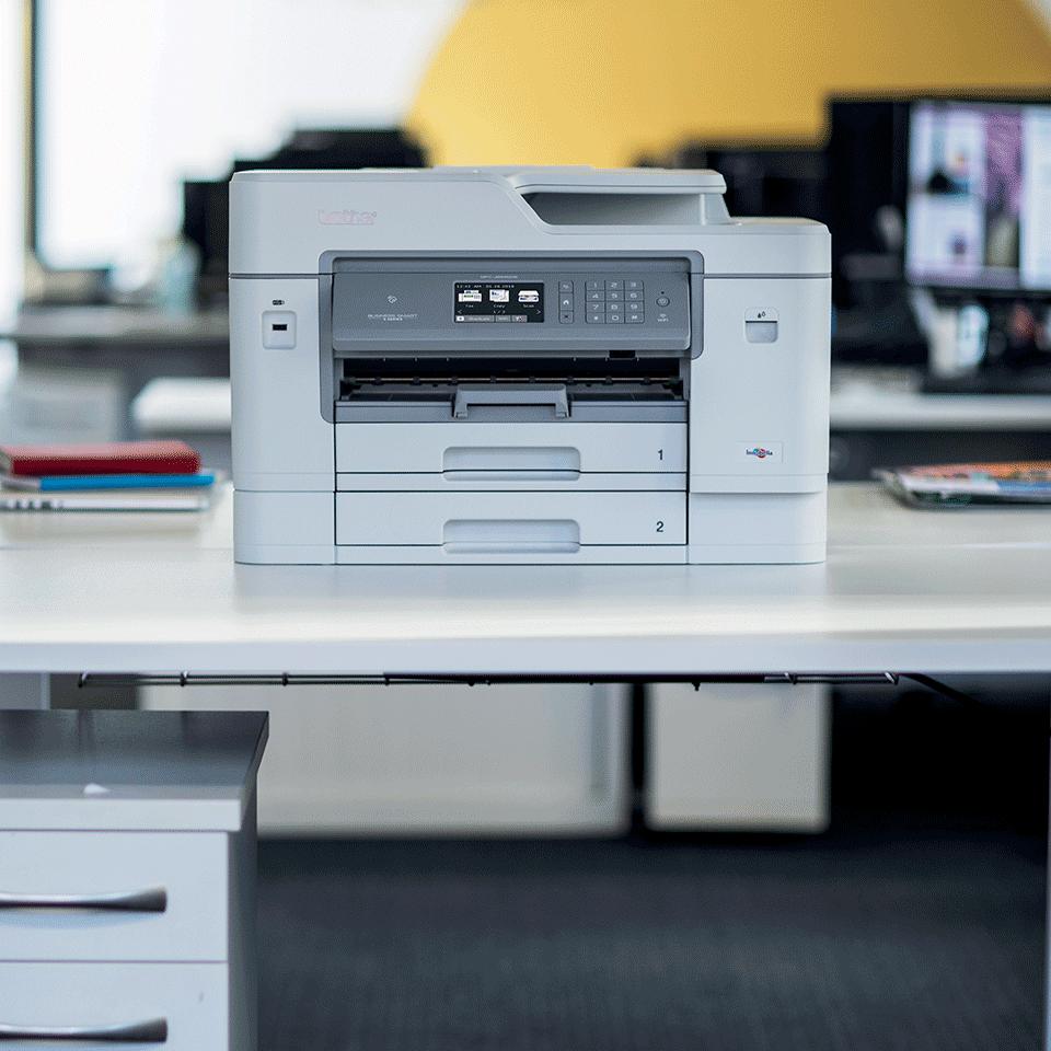 MFC-J6945DW krāsu bezvadu tīkla A3 tintes 4-in-1 printeris 4