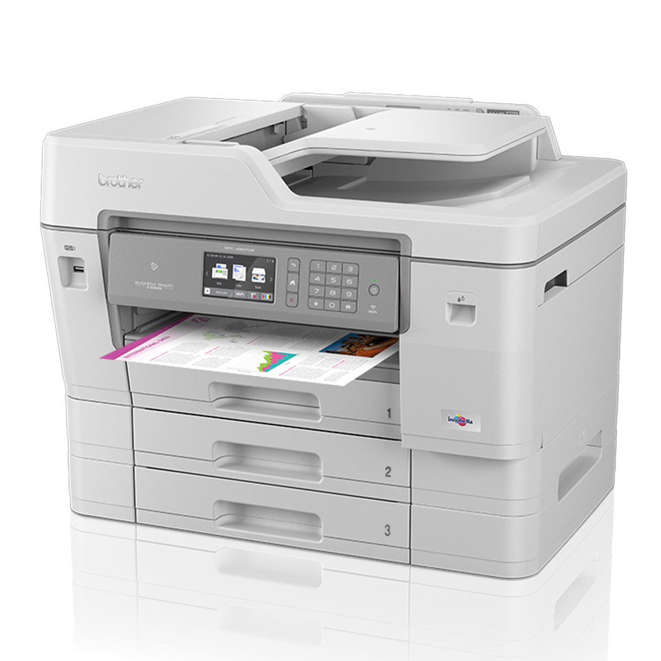 MFC-J6947DW krāsu A3 tintes 4-in-1 printeris ar bezvadu tīkla savienojumu 2