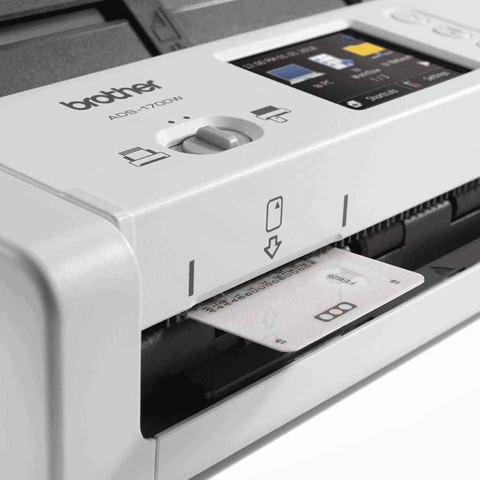 ADS-1700W kompakts dokumentu skeneris 7