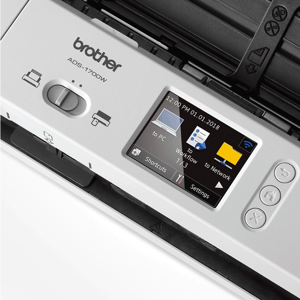 ADS-1700W kompakts dokumentu skeneris 8