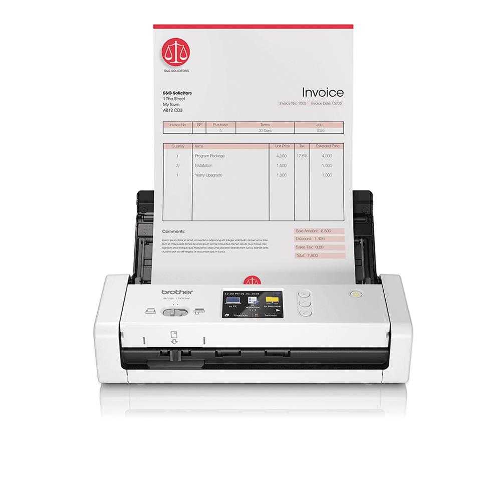 ADS-1700W kompakts dokumentu skeneris