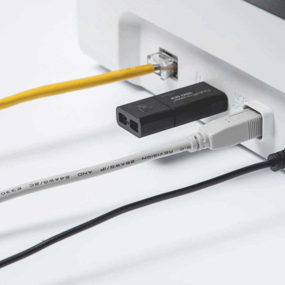 Brother ADS-2700W bezvadu, vadu tīkla galda skeneris 6