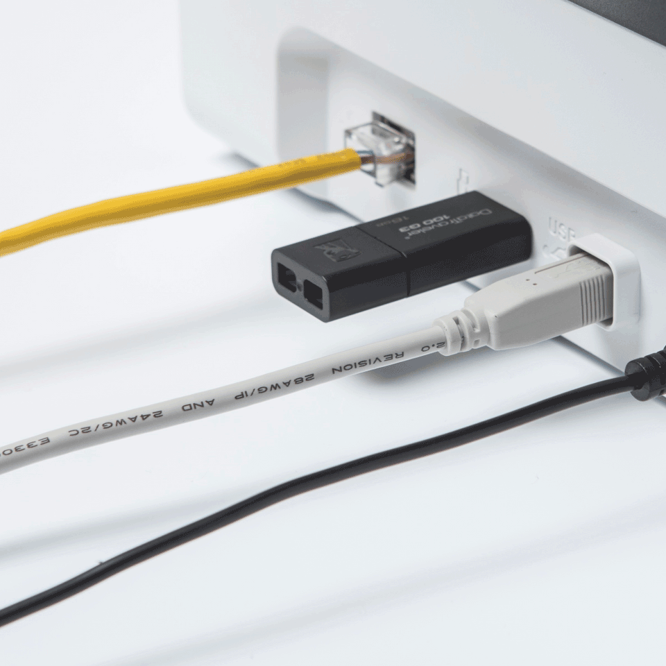 Brother ADS-2700W bezvadu, vadu tīkla galda skeneris 5