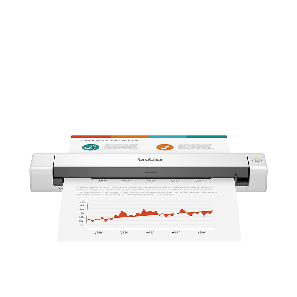 Brother DSmobile DS-640 portatīvais dokumentu skeneris