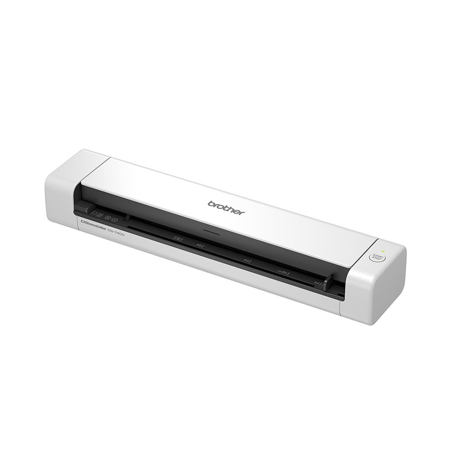 Brother DSmobile DS-740D divpusējas funkcijas portatīvais skeneris 2