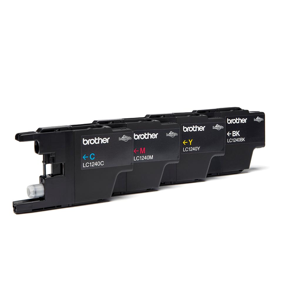 Oriģināla Brother LC1240VALBPDR tintes kasetņu multipaka 2