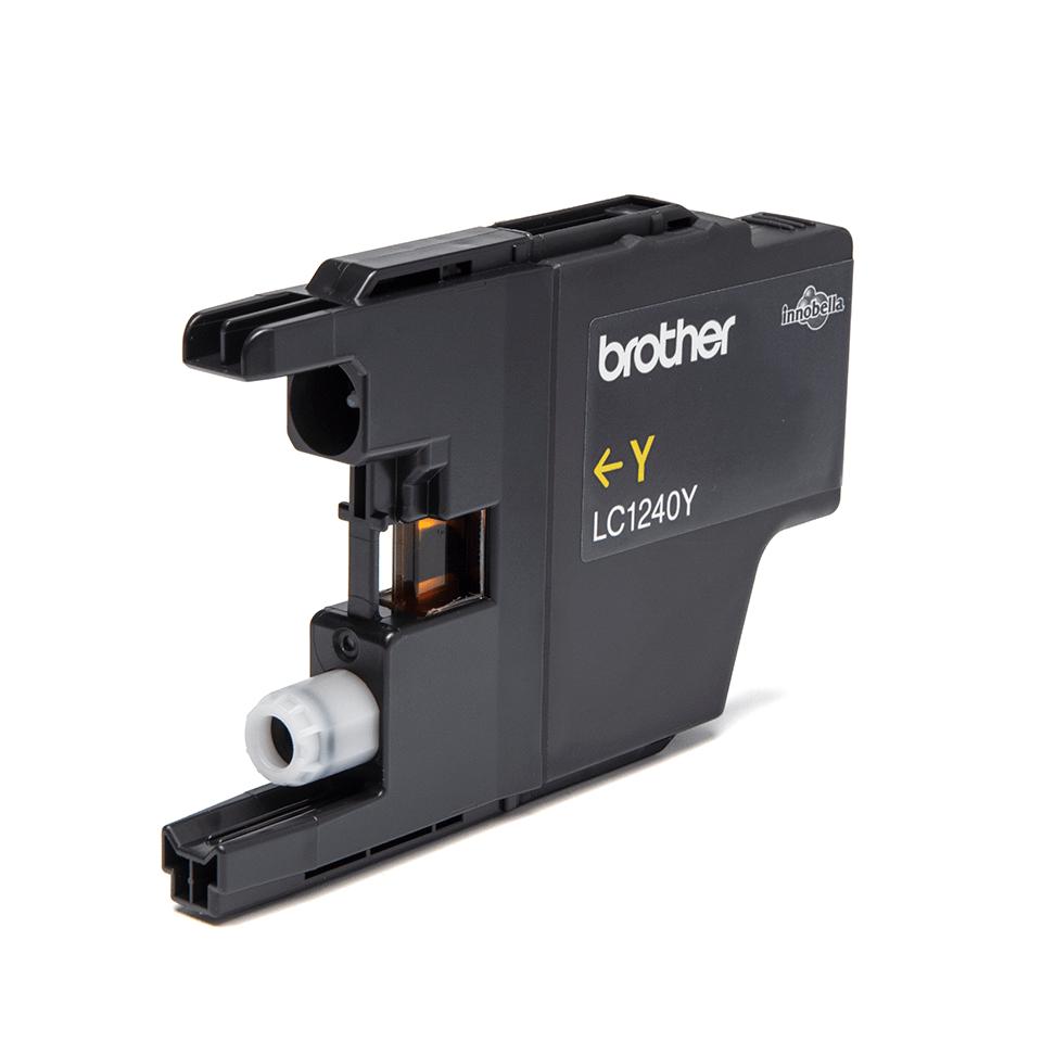 Oriģināla Brother LC1240Y  printera tintes kasetne, dzeltena 2