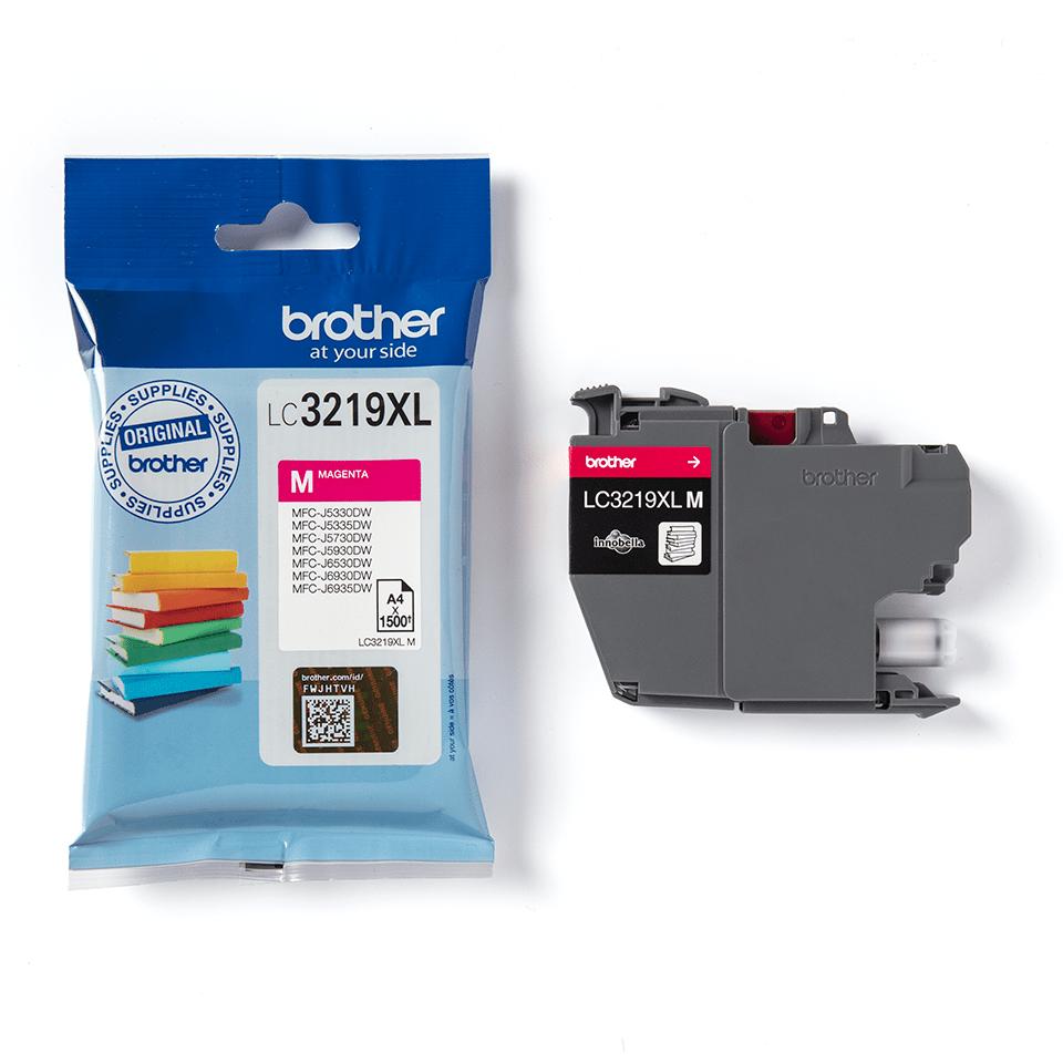 Oriģināla Brother LC3219XLM tintes kasetne fuksīna krāsā 3
