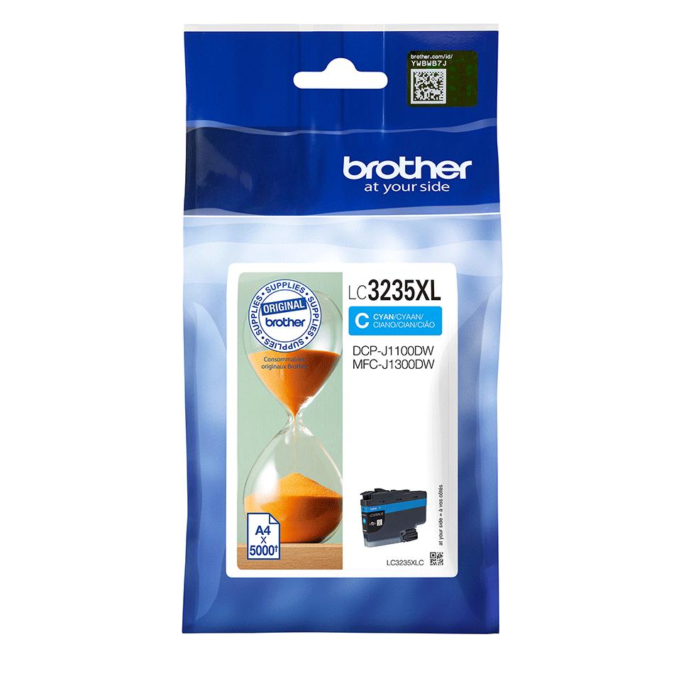 Oriģināla Brother LC3235XLC tintes kasetne - ciāna