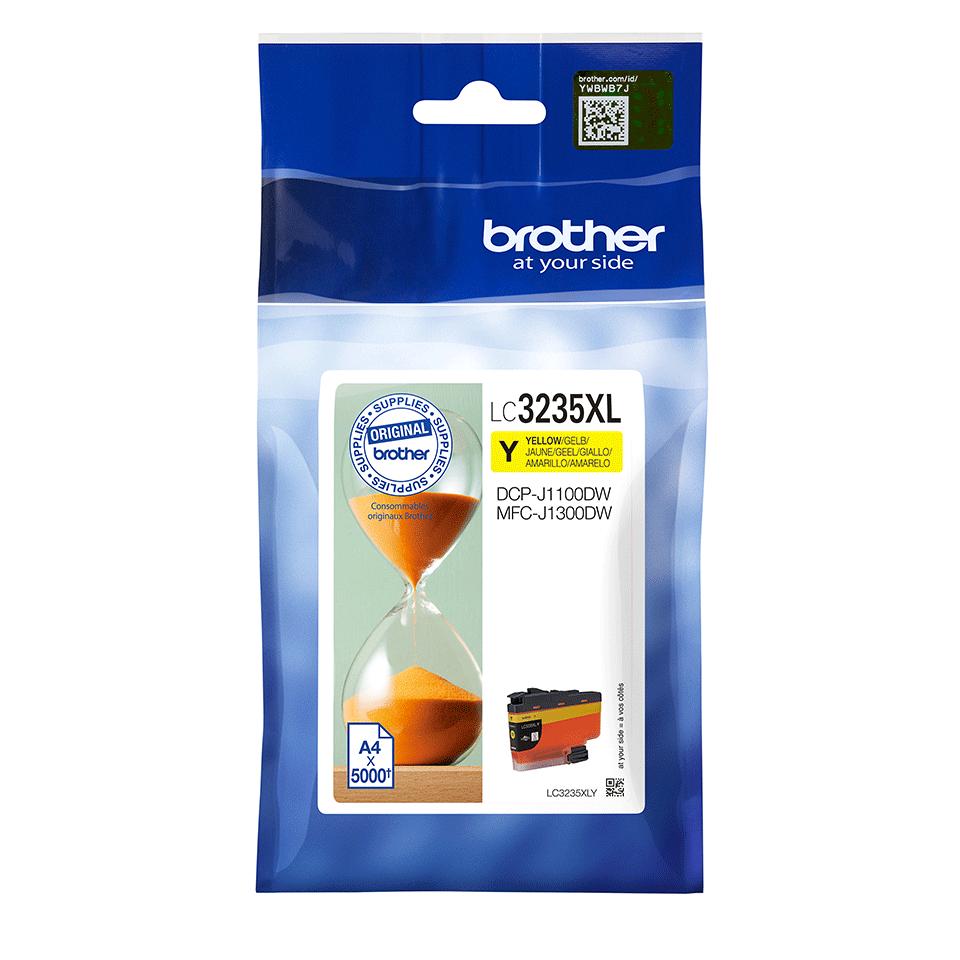 Oriģināla Brother LC3235XLY tintes kasetne - dzeltena