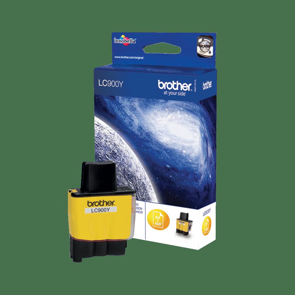Oriģināla Brother  LC900Y  tintes kasetne, dzeltena 2