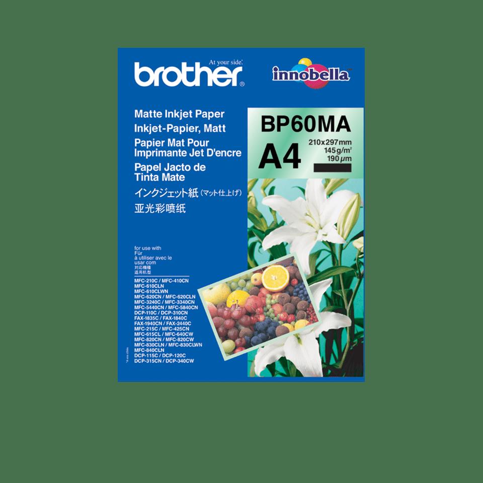 Oriģināls Brother BP60MA A4 tintes papīrs - matēts