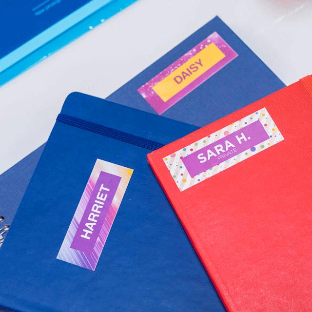 Oriģināls Brother CZ-1005 pilnkrāsu uzlīmju lentes rullis, 50mm platas uzlīmes 15