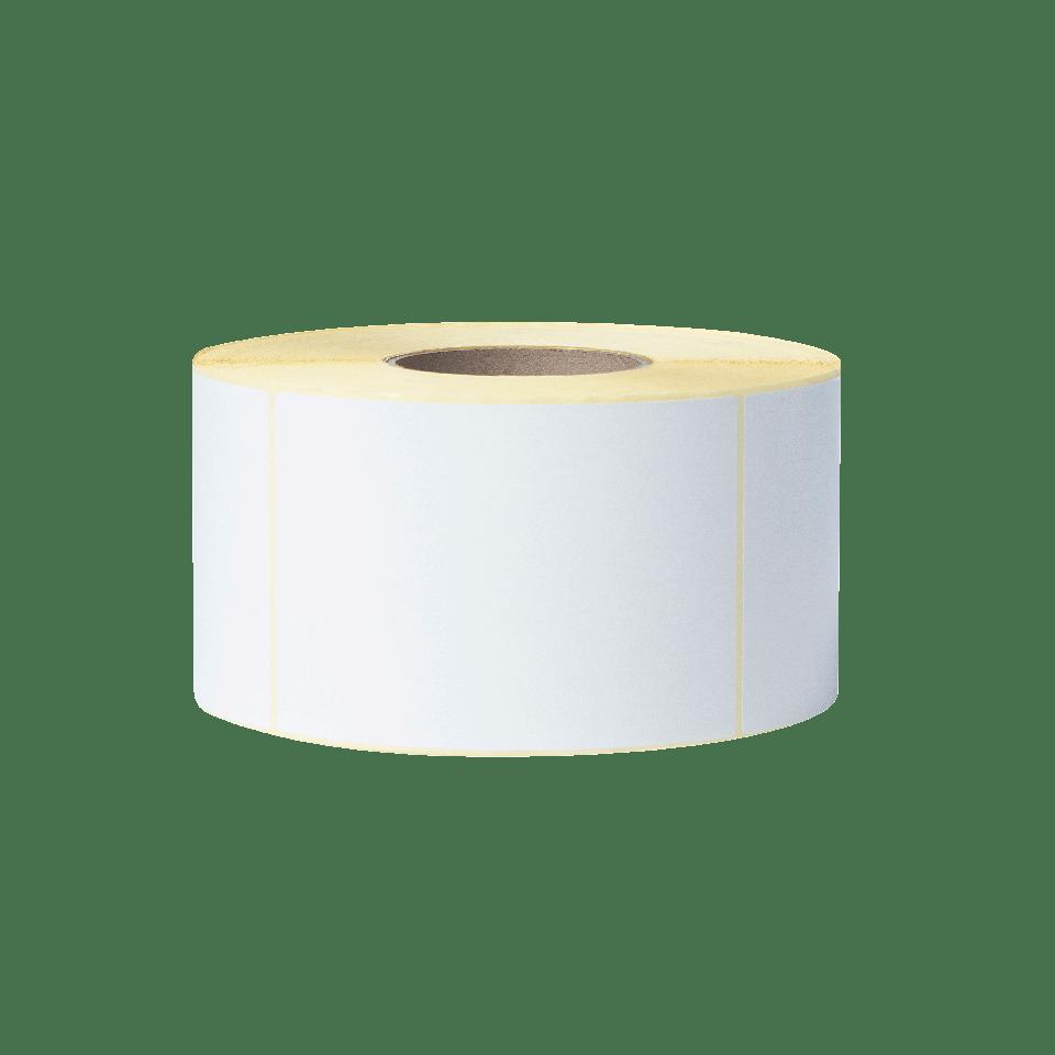 Bez pārklājuma termo pārneses baltas sagrieztas uzlīmes rullī BUS-1J150102-203 2