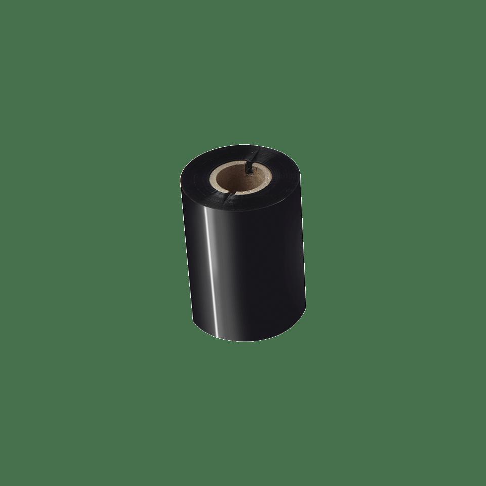 Premium sveķu termo pārneses melnas tintes lente BRP-1D300-080 2