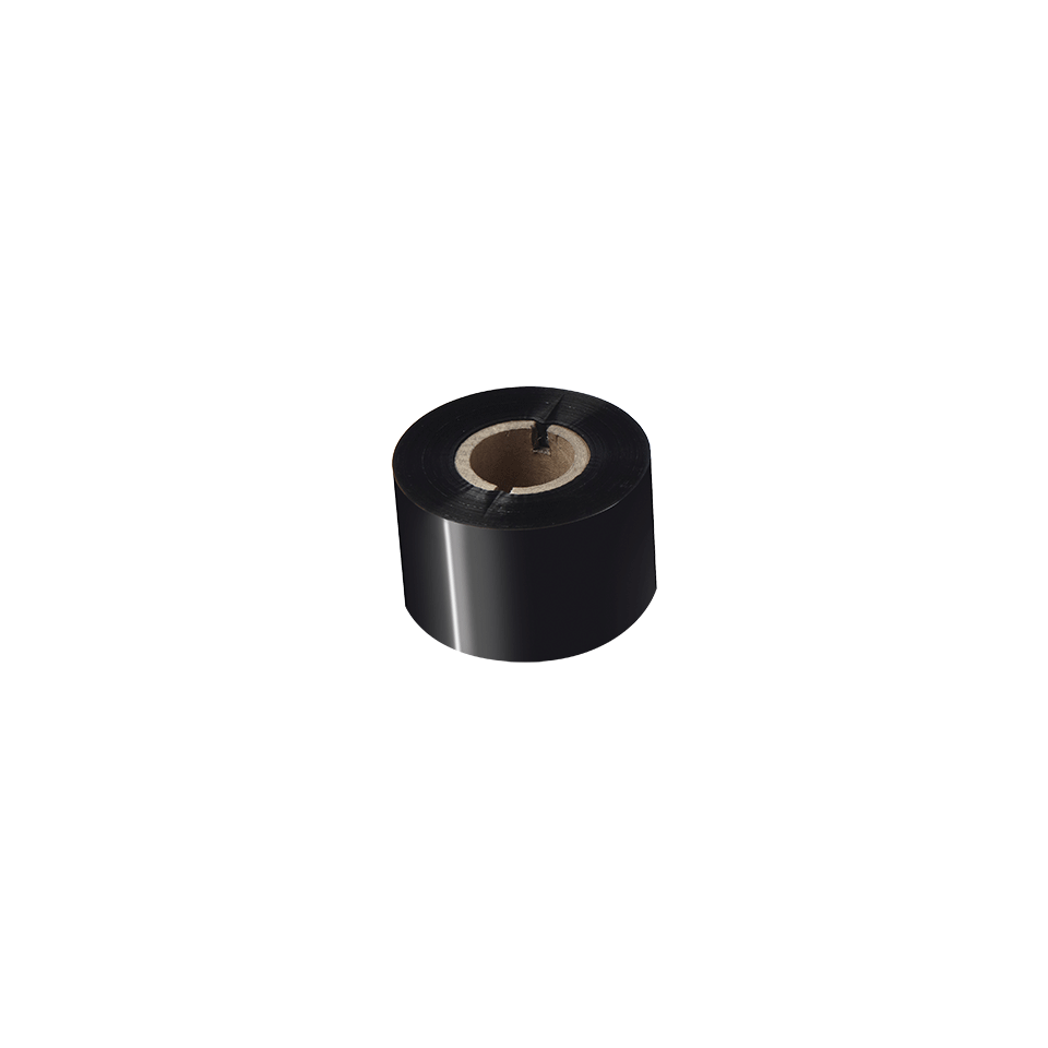Premium vaska/sveķu termo pārneses melnas tintes lente BSP-1D300-060 2