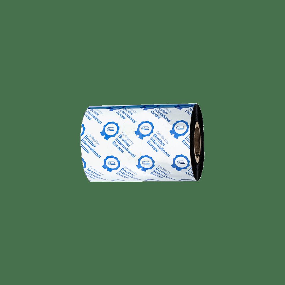 Premium vaska/sveķu termo pārneses melnas tintes lente BSP-1D300-080