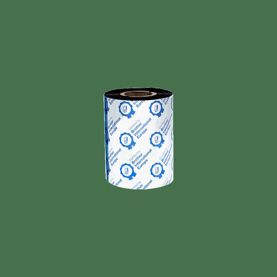 Premium vaska/sveķu termo pārneses melnas tintes lente BSP-1D300-080 3