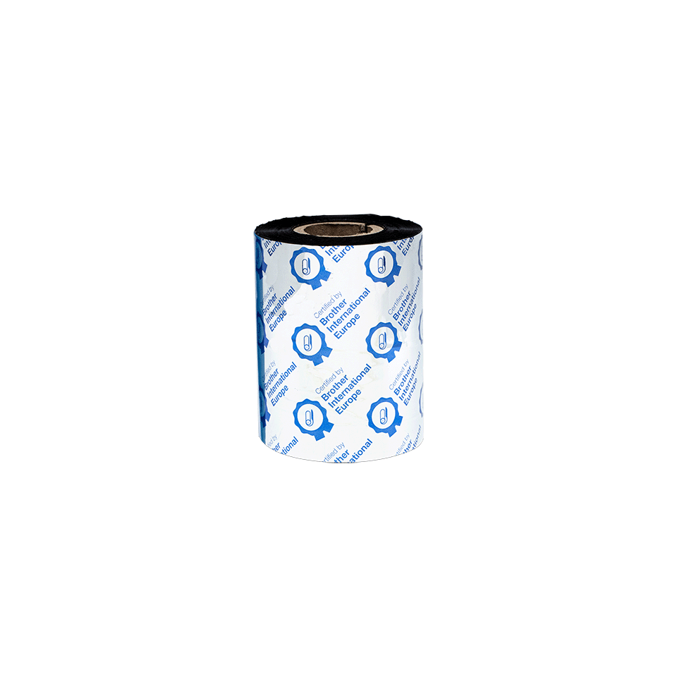 Standarta vaska/sveķu termo pārneses melnas tintes lente BSS-1D300-080 3