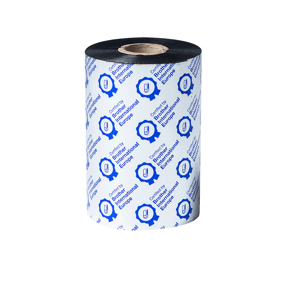Premium vaska termo pārneses melnas tintes lente BWP-1D450-110 2