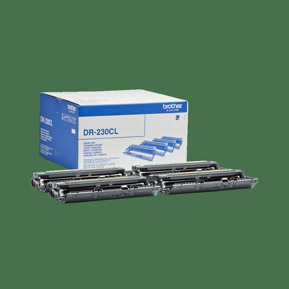 Oriģināls Brother DR-230CL fotocilindra iepakojums