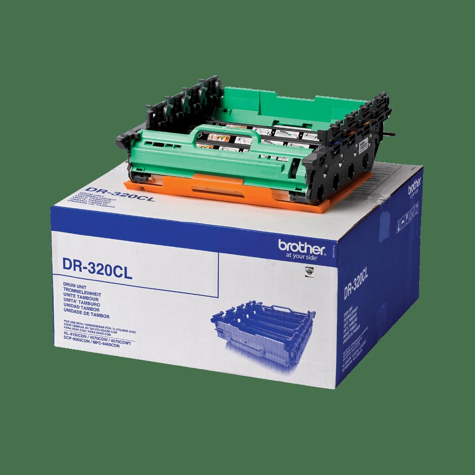 Oriģināls Brother DR-320CL fotocilindru iepakojums