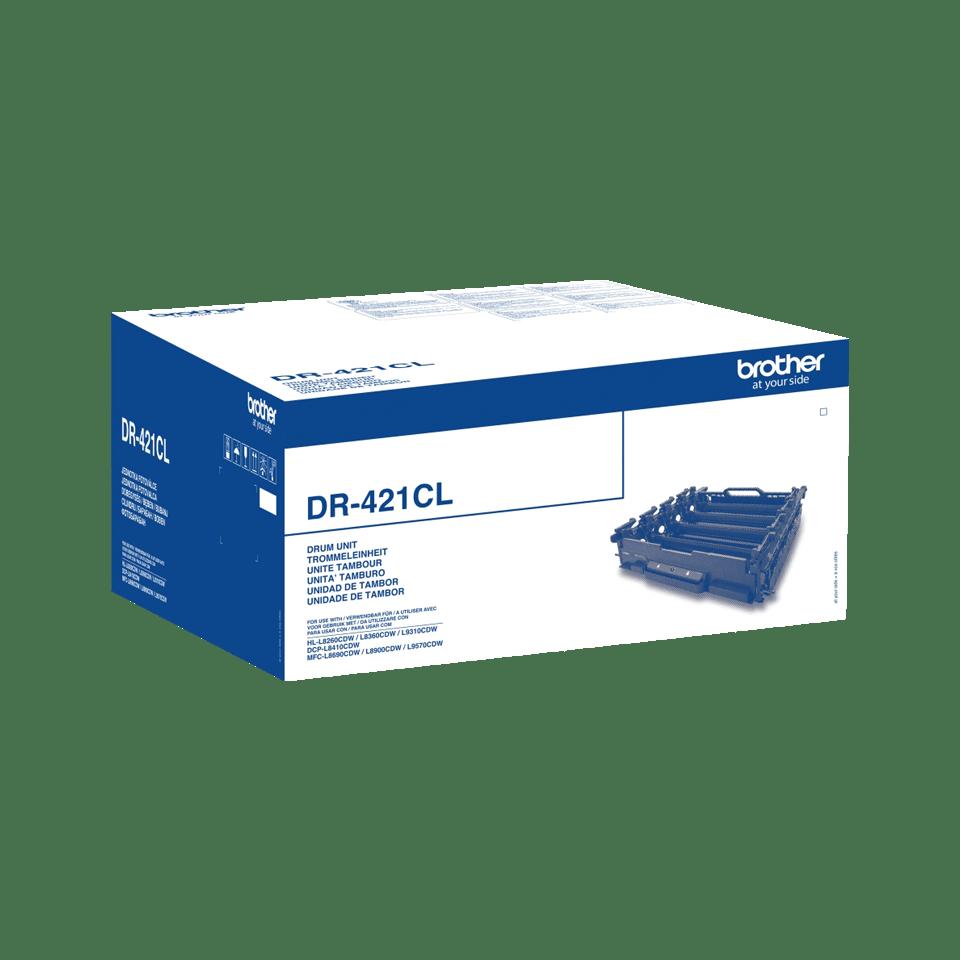 Oriģināla Brother DR-421CL fotocilindra paka 2