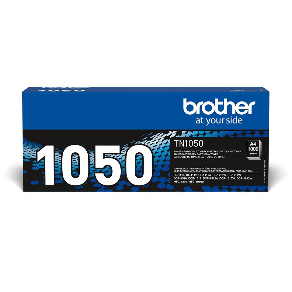Oriģināla Brother TN-1050 tonera kasetne – melna