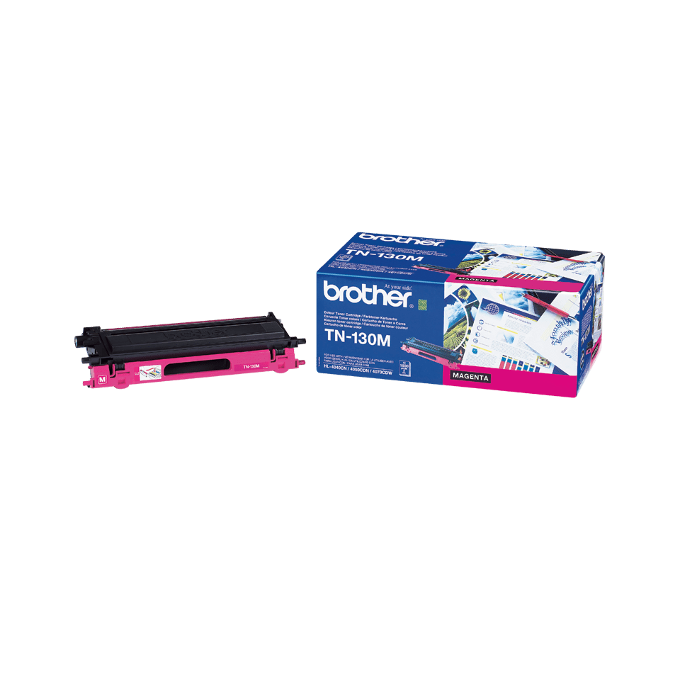 Genuine Brother TN-130M Toner Cartridge – Magenta
