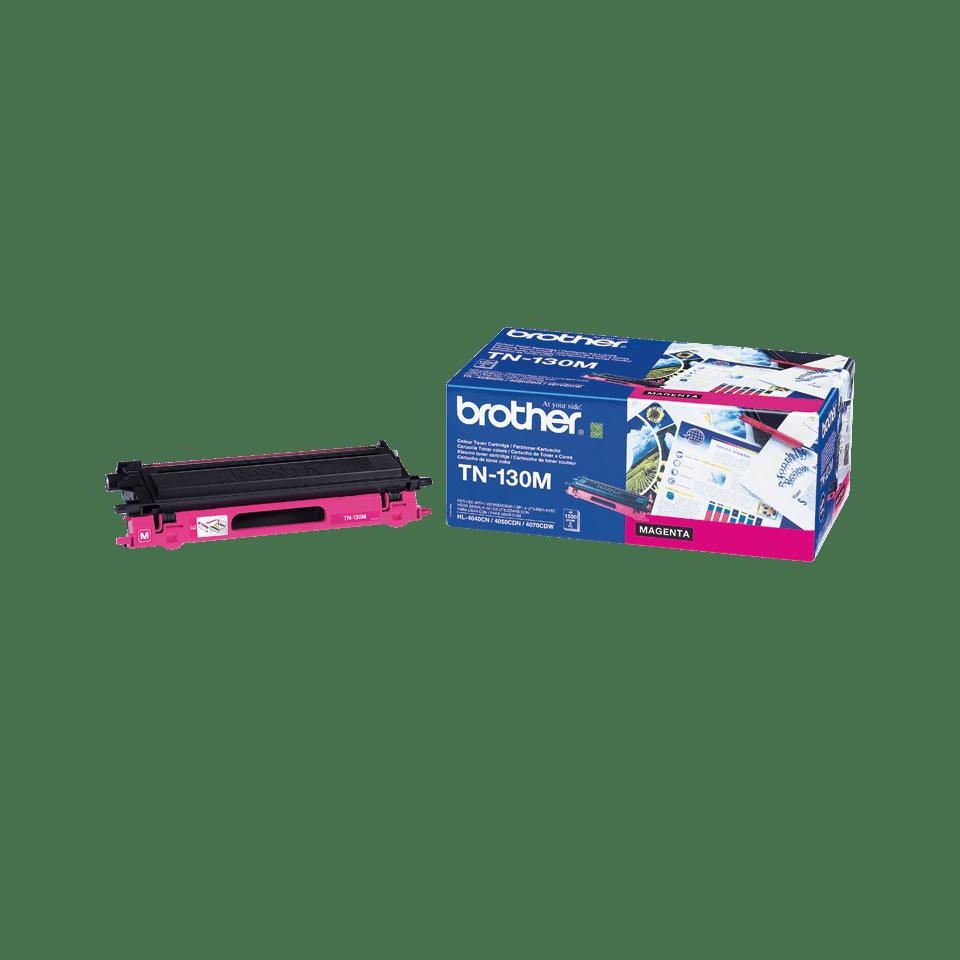 Oriģināla Brother TN130M tintes kasetne, fuksīna