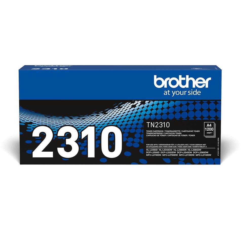 Oriģināla Brother TN-2310 tonera kasetne - melna