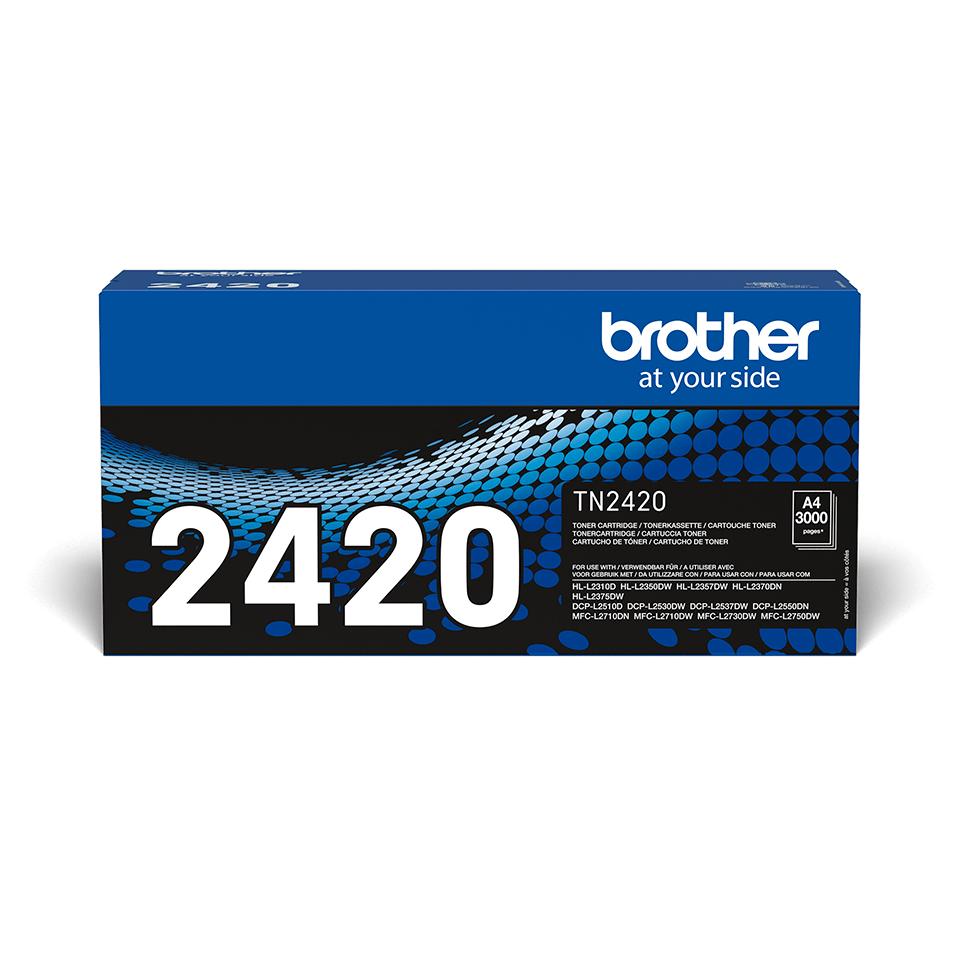 Oriģināla Brother TN-2420 tonera kasetne - melna