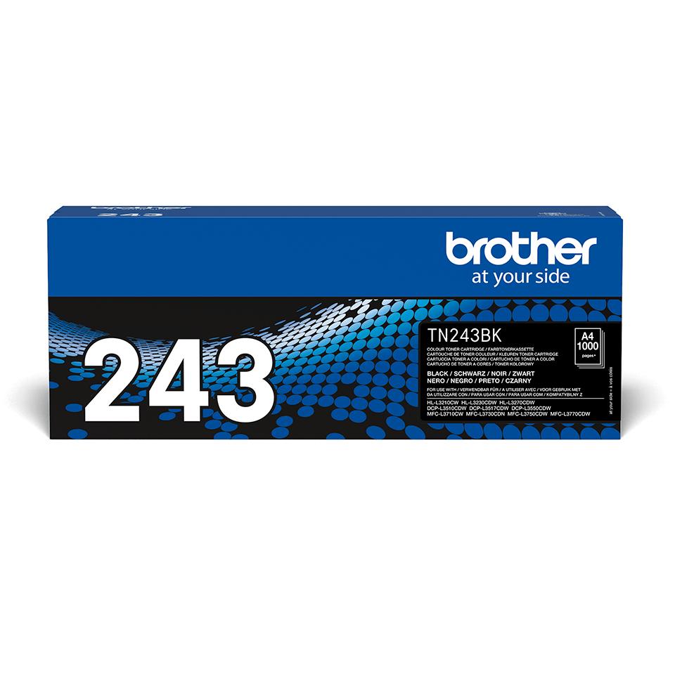 Oriģināla Brother TN-243BK tonera kasetne - Melna 2